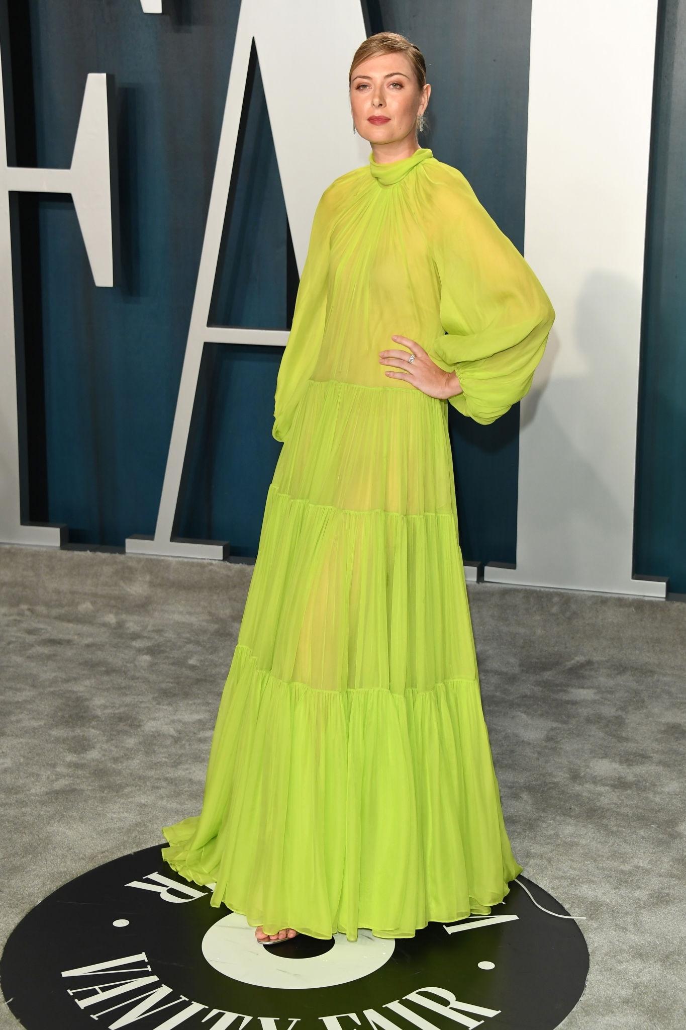 Maria Sharapova – Vanity Fair Oscar Party in Beverly Hills 02/09/20