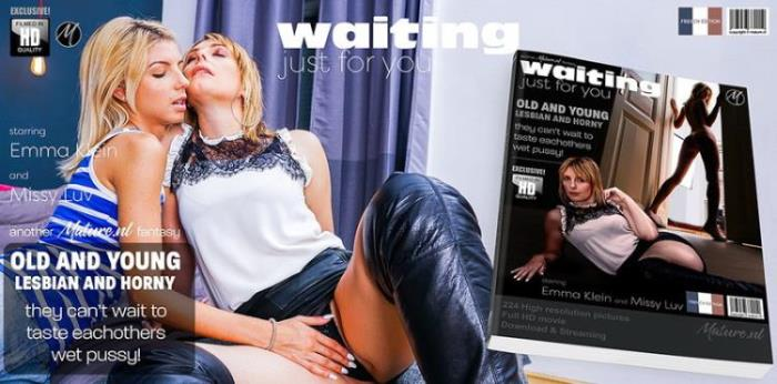 Mature.nl: They both are waiting for sensual hot old and young lesbian sex Starring: Emma Klein (EU) (35)