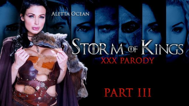 ZZSeries.com Brazzers.com: Storm Of Kings XXX Parody: Part 3 Starring: Aletta Ocean