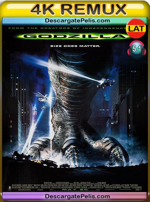Godzilla 1998 BD4K Remux Latino – Inglés