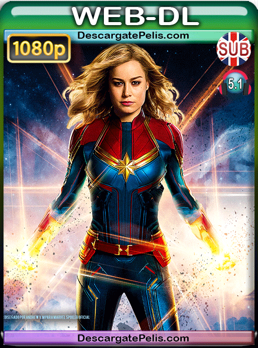 Captain marvel 2019 1080p WEB-DL Subtitulado