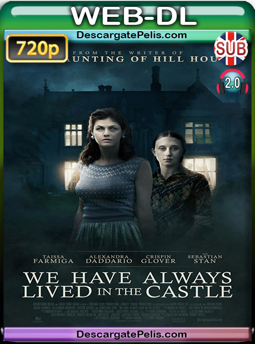We have always lived in the castle 2018 720p WEB-DL Subtitulado