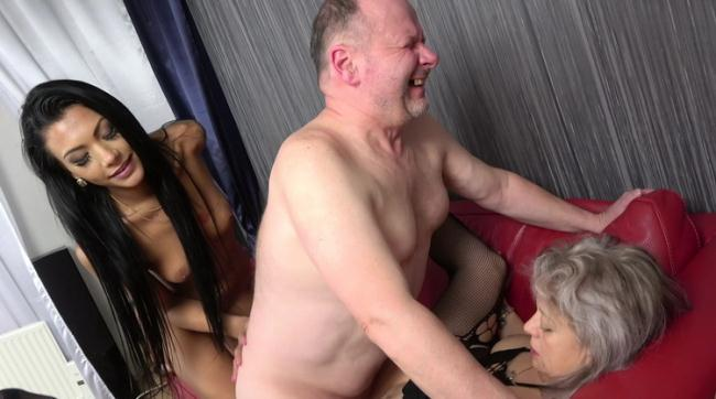 GrandParentsX.com Passionxxx.com: First time sex with old couple Starring: Veronique
