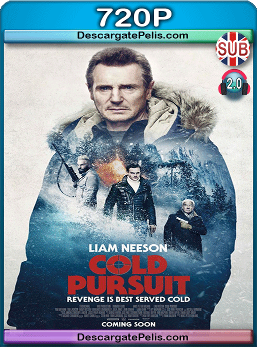 Cold pursuit 2019 720p HC HDrip Subtitulado