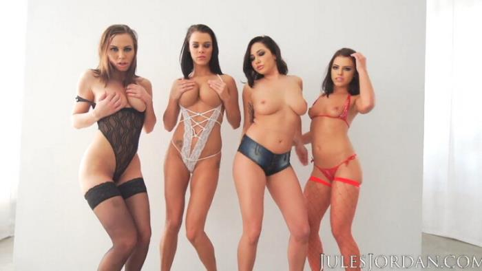 JulesJordan: Orgy Masters Sex Party Starring: Adriana Chechik