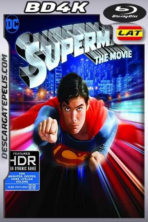 Superman. The Movie 1978 BD4K Latino