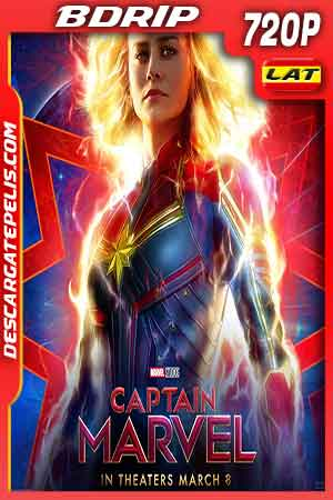Captain marvel 2019 720p BDrip Latino – Inglés