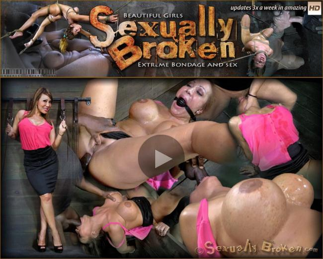 Ava Devine - Super MILF Ava Devine is bound helpless and deeply ASS fucked. Deep throated, rough ANAL sex! (2021 SexuallyBroken.com) [HD   720p  483.44 Mb]
