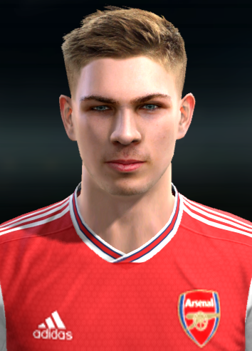 Emile Smith Rowe Face For Pro Evolution Soccer Pes 2013 Made By Arzuman Nikadim Pesfaces Download Realistic Faces For Pro Evolution Soccer