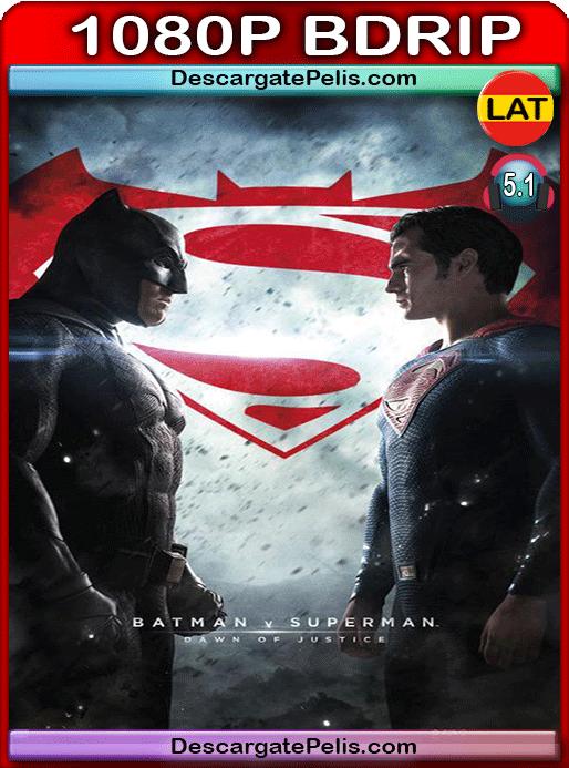 Batman v Superman. Dawn of justice 2016 v.EXT 1080p BDrip Latino – Inglés