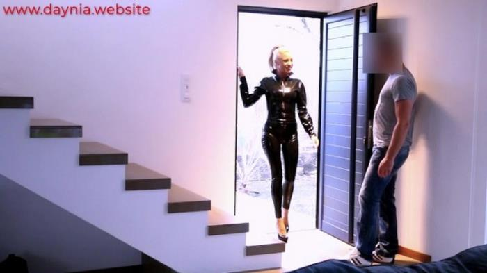Daynia: Escort Bitch! Hard 3hole Fuck with the Latex Hore Starring: Daynia