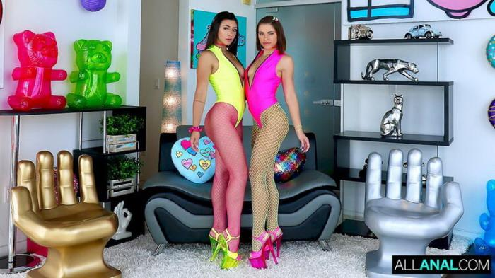 AllAnal.com: Adriana And Brooklyn Are Partners In Slime Starring: Adriana Chechik
