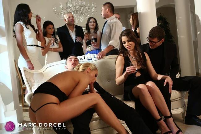 DorcelClub.com Dorcel.com: First orgy and hard DP for the young Manon Starring: Manon Martin