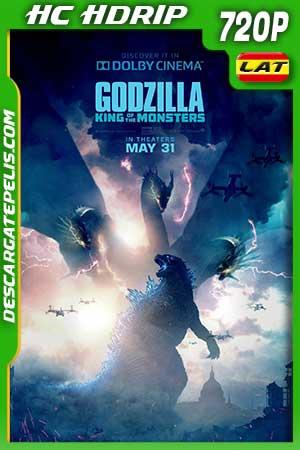 Godzilla II. El rey de los monstruos 2019 720p HC HDrip Latino – Inglés