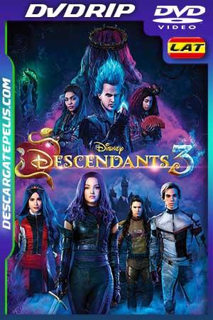 Los Descendientes 3 2019 DVDrip Latino