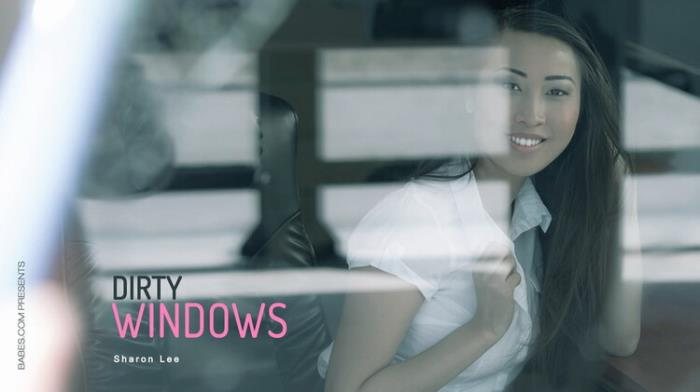 Sharon Lee - Dirty Windows (2021 OfficeObsession.com, Babes.com) [SD   360p  135.46 Mb]