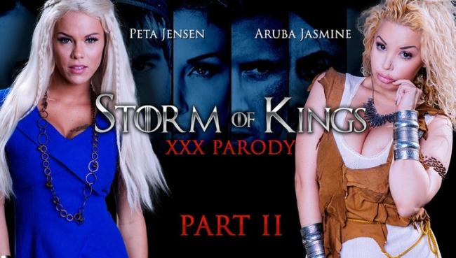 ZZSeries.com Brazzers.com: Storm Of Kings XXX Parody: Part 2 Starring: Aruba Jasmine
