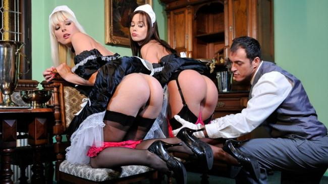 Cindy Dollar - TWO MAIDS HAVING FUN WITH THE BUTLER (2021 DorcelClub.com Dorcel.com) [HD   720p  194.32 Mb]