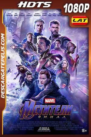 Vengadores. Endgame 2019 1080p HDTS v2 Latino – Inglés