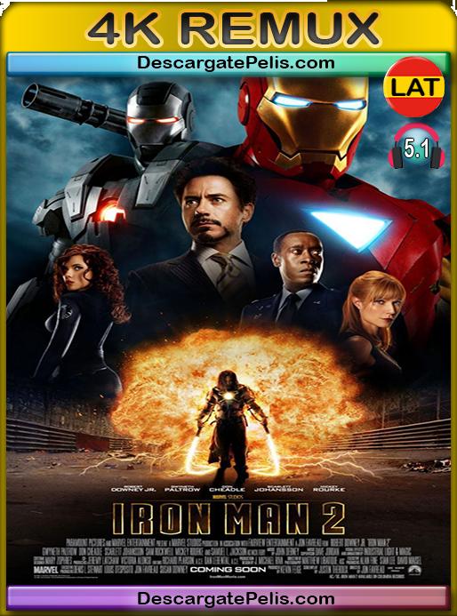 Iron man 2 2010 [BD4K Remux] [Latino-Inglés]