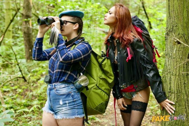 Veronica Leal - Slim and Thicc Girl Threesome (2021 FakeHostel.com FakeHub.com) [FullHD   1080p  815.17 Mb]