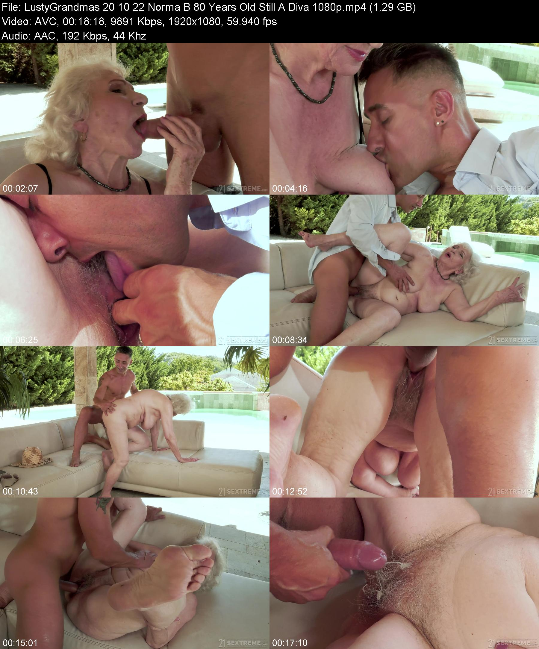 LustyGrandmas 20 10 22 Norma B 80 Years Old Still A Diva XXX 1080p MP4-XXX