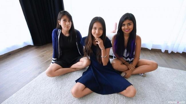 Manyvids.com YouthLust: Three Teens Share Cum Starring: Emma