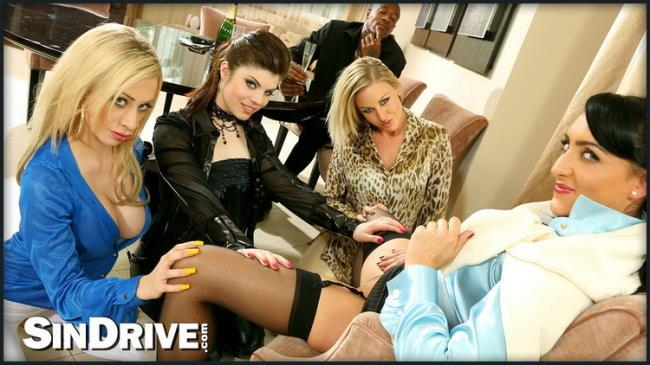 Upperclassfuckfest.com SinDrive.com: Home Harlots Wanted Part 1: The Lusty Lesbo Warm-Up Starring: Lissa Love